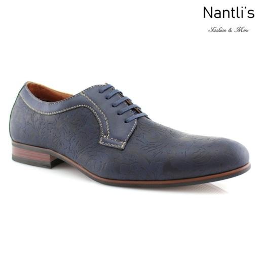 Zapatos para Hombre FA-SILAS Blue Mayoreo Wholesale Men's Fashion Shoes Nantlis