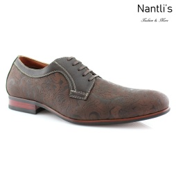 Zapatos para Hombre FA-SILAS Dark Brown Mayoreo Wholesale Men's Fashion Shoes Nantlis