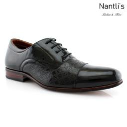 Zapatos para Hombre FA-SIMON Black 100 Mayoreo Wholesale Men's Fashion Shoes Nantlis