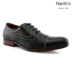 Zapatos para Hombre FA-SIMON Black 62 Mayoreo Wholesale Men's Fashion Shoes Nantlis