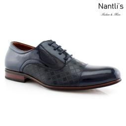 Zapatos para Hombre FA-SIMON Blue Mayoreo Wholesale Men's Fashion Shoes Nantlis