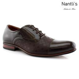 Zapatos para Hombre FA-SIMON Dark Brown Mayoreo Wholesale Men's Fashion Shoes Nantlis