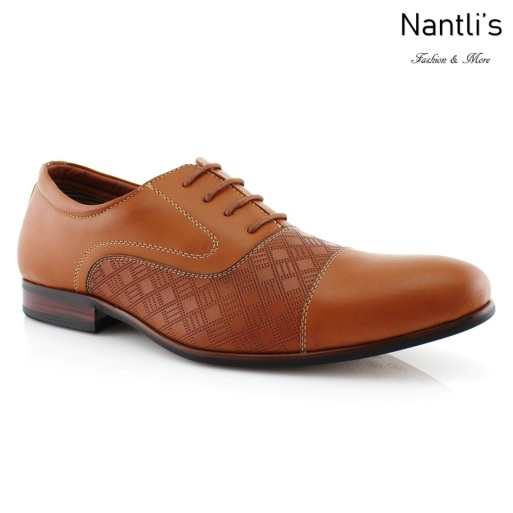 Zapatos para Hombre FA-SIMON Light Brown Mayoreo Wholesale Men's Fashion Shoes Nantlis
