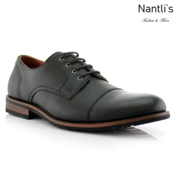 Zapatos para Hombre FA-SPENCER Black Mayoreo Wholesale Men's Fashion Shoes Nantlis