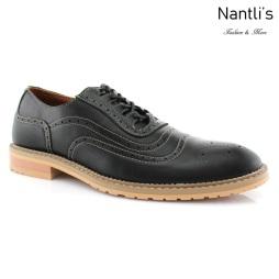 Zapatos para Hombre FA-TIMOTHY Black Mayoreo Wholesale Men's Fashion Shoes Nantlis