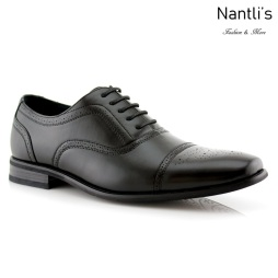 Zapatos para Hombre FA-TODD Black Mayoreo Wholesale Men's Fashion Shoes Nantlis