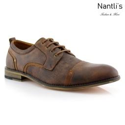 Zapatos para Hombre FA-TREVOR Brown Mayoreo Wholesale Men's Fashion Shoes Nantlis