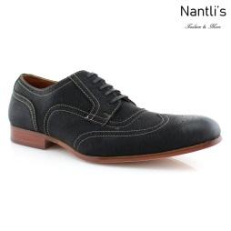 Zapatos para Hombre FA-VINCENT Black Mayoreo Wholesale Men's Fashion Shoes Nantlis