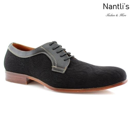 Zapatos para Hombre FA-WILLIAM Black Mayoreo Wholesale Men's Fashion Shoes Nantlis
