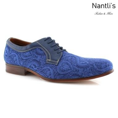 Zapatos para Hombre FA-WILLIAM Blue Mayoreo Wholesale Men's Fashion Shoes Nantlis
