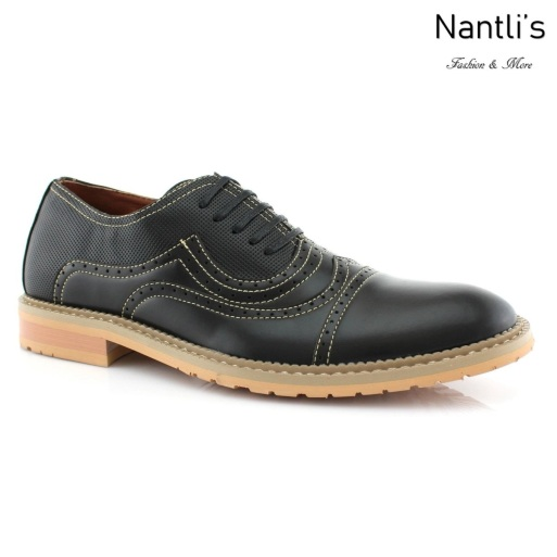 Zapatos para Hombre FA-XAVIER Black Mayoreo Wholesale Men's Fashion Shoes Nantlis