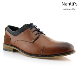 Zapatos para Hombre PF-ALEXANDER Brown Mayoreo Wholesale Men's Fashion Shoes Nantlis