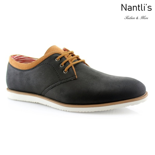 Zapatos para Hombre PF-ANGEL Black Mayoreo Wholesale Men's Fashion Shoes Nantlis