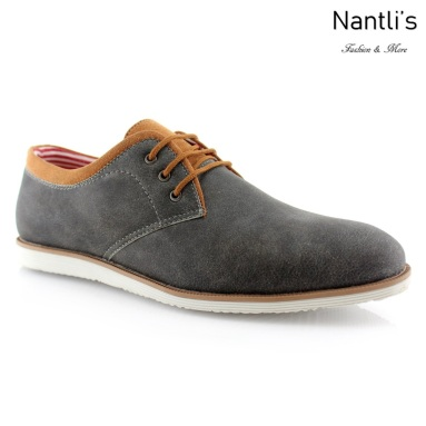 Zapatos para Hombre PF-ANGEL Grey Mayoreo Wholesale Men's Fashion Shoes Nantlis