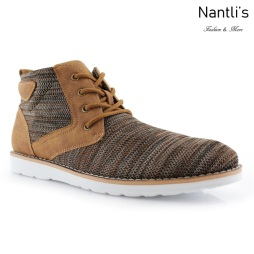 Zapatos para Hombre PF-BOHORT Brown Mayoreo Wholesale Men's Fashion Shoes Hi-top sneakers Nantlis