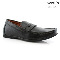 Zapatos para Hombre PF-CADEN Black Mayoreo Wholesale Men's Fashion Shoes Nantlis