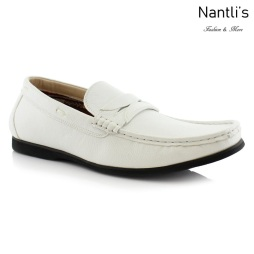 Zapatos para Hombre PF-CADEN White Mayoreo Wholesale Men's Fashion Shoes Nantlis