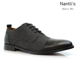 Zapatos para Hombre PF-CLIFFORD Black Mayoreo Wholesale Men's Fashion Shoes Nantlis