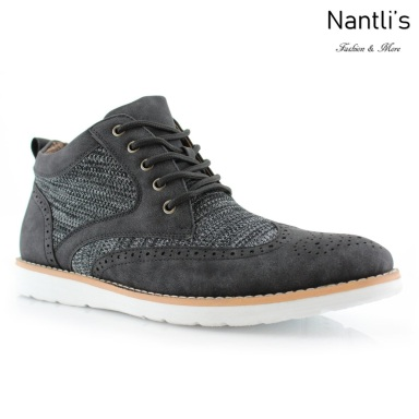 Zapatos para Hombre PF-COLBERT Black Mayoreo Wholesale Men's Fashion Shoes Hi-top sneakers Nantlis