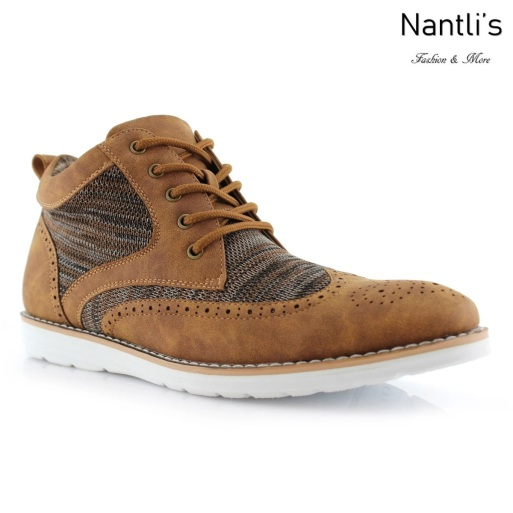 Zapatos para Hombre PF-COLBERT Brown Mayoreo Wholesale Men's Fashion Shoes Hi-top sneakers Nantlis