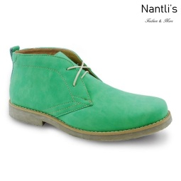 Zapatos para Hombre PF-ELLIOT Green Mayoreo Wholesale Men's Fashion Shoes Chukka Boots Nantlis