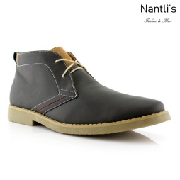 Zapatos para Hombre PF-ELLIOT Grey Mayoreo Wholesale Men's Fashion Shoes Chukka Boots Nantlis