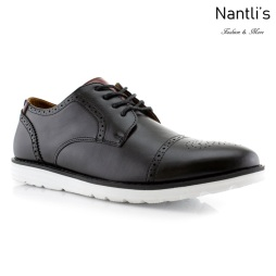 Zapatos para Hombre PF-KENNETH Black Mayoreo Wholesale Men's Fashion Shoes Nantlis