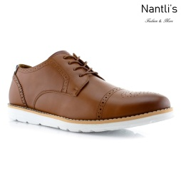 Zapatos para Hombre PF-KENNETH Brown Mayoreo Wholesale Men's Fashion Shoes Nantlis