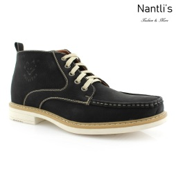 Zapatos para Hombre PF-OLIVER Black Mayoreo Wholesale Men's Fashion Shoes Chukka Boots Nantlis