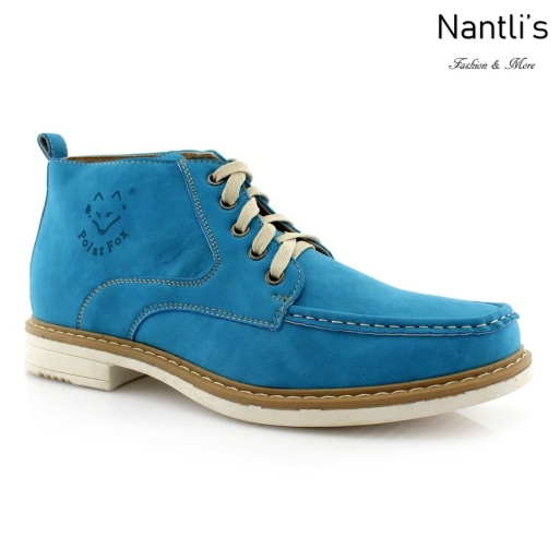 Zapatos para Hombre PF-OLIVER Blue Mayoreo Wholesale Men's Fashion Shoes Chukka Boots Nantlis