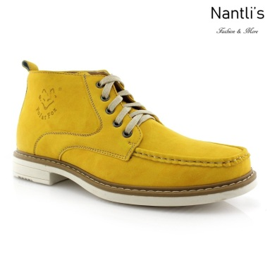 Zapatos para Hombre PF-OLIVER Yellow Mayoreo Wholesale Men's Fashion Shoes Chukka Boots Nantlis