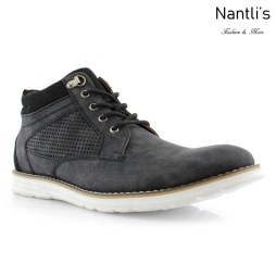 Zapatos para Hombre PF-SANDERS Black Charcoal Mayoreo Wholesale Men's Fashion Shoes hi-top Sneakers Nantlis