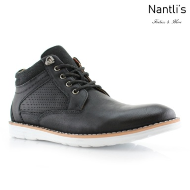 Zapatos para Hombre PF-SANDERS Black Mayoreo Wholesale Men's Fashion Shoes hi-top Sneakers Nantlis