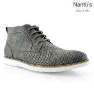 Zapatos para Hombre PF-WALKER Grey Men's Mayoreo Wholesale Fashion Shoes hi-top Sneakers Nantlis