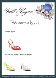 Nantlis Vol QU40 Zapatos de vestir de mujer mayoreo Wholesale Dressy heels for women page 02