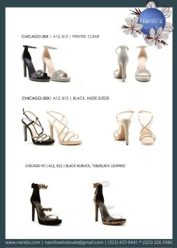 Nantlis Vol QU40 Zapatos de vestir de mujer mayoreo Wholesale Dressy heels for women page 07