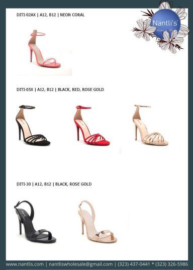 Nantlis Vol QU40 Zapatos de vestir de mujer mayoreo Wholesale Dressy heels for women page 12