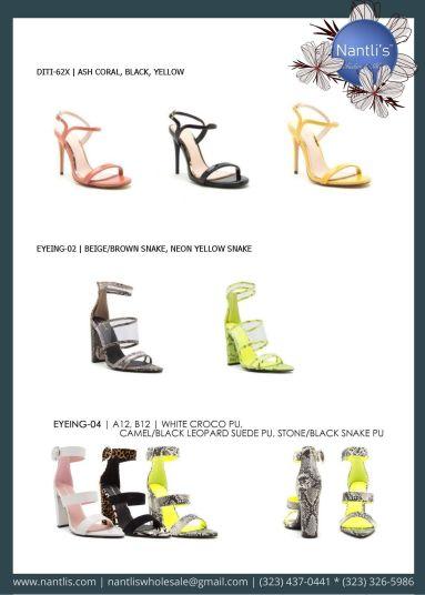 Nantlis Vol QU40 Zapatos de vestir de mujer mayoreo Wholesale Dressy heels for women page 13