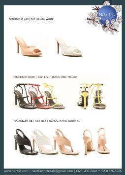 Nantlis Vol QU40 Zapatos de vestir de mujer mayoreo Wholesale Dressy heels for women page 19