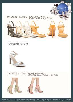 Nantlis Vol QU40 Zapatos de vestir de mujer mayoreo Wholesale Dressy heels for women page 20