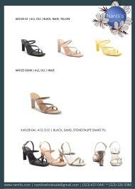 Nantlis Vol QU40 Zapatos de vestir de mujer mayoreo Wholesale Dressy heels for women page 23