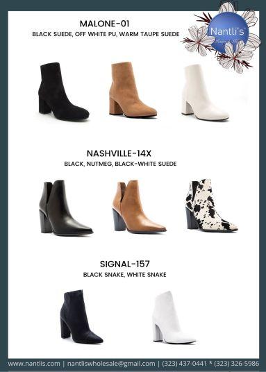 Nantlis Vol QU40 Zapatos de vestir de mujer mayoreo Wholesale Dressy heels for women page 26
