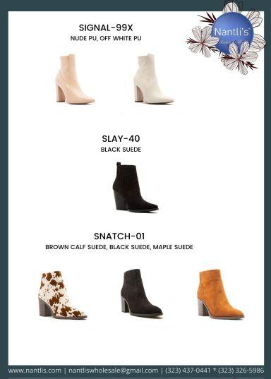 Nantlis Vol QU40 Zapatos de vestir de mujer mayoreo Wholesale Dressy heels for women page 27