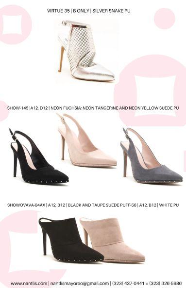 Nantlis Vol QU41 Zapatos para mujer mayoreo Wholesale women shoes Page 13