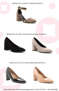 Nantlis Vol QU41 Zapatos para mujer mayoreo Wholesale women shoes Page 15