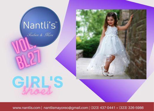 Nantlis Vol BLK27 Zapatos de ninas mayoreo Catalogo Wholesale girls Shoes Page-01