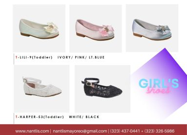 Nantlis Vol BLK27 Zapatos de ninas mayoreo Catalogo Wholesale girls Shoes Page-11