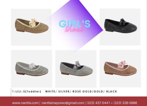 Nantlis Vol BLK27 Zapatos de ninas mayoreo Catalogo Wholesale girls Shoes Page-12