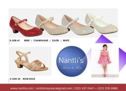 Nantlis Vol BLK27 Zapatos de ninas mayoreo Catalogo Wholesale girls Shoes Page-14