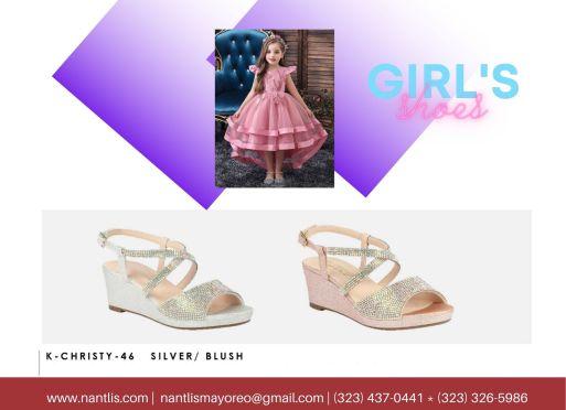 Nantlis Vol BLK27 Zapatos de ninas mayoreo Catalogo Wholesale girls Shoes Page-20